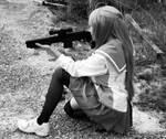 HOTD: Ready Aim Shoot by CupcakeMassacreBear