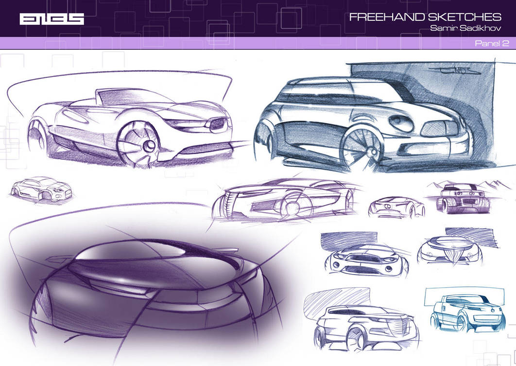 Freehand Sketches 2 by Samirs