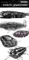 Black Sketches by Samirs