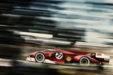Ferrari Le Mans by Samirs