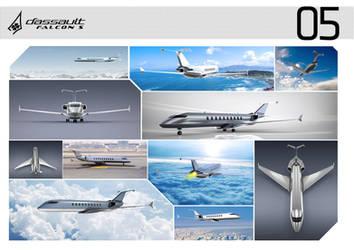 Dassault Falcon S  2. by Samirs
