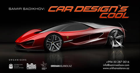 Car Design class in Azerbaijan by Samirs