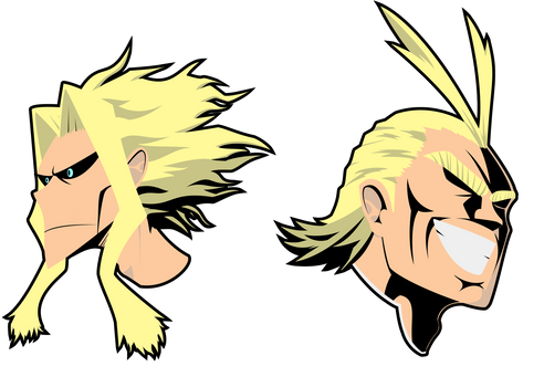 All Might by BugStep