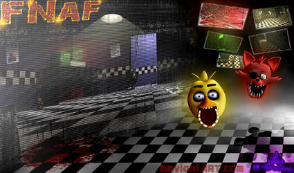 Just Five Nights by heavenly-roads