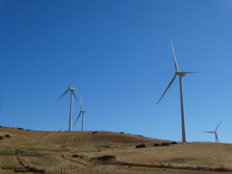 Day Windmills by heavenly-roads