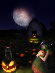 The Witch Wants a new Pumpkin Patch by dhbraley