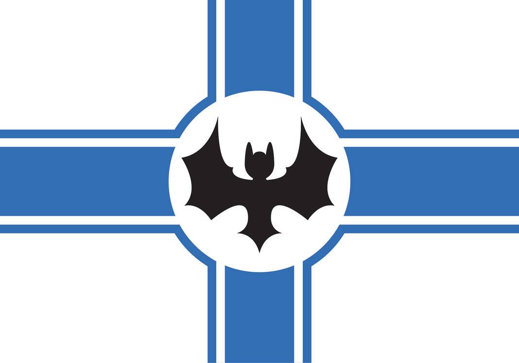 Athonia Flag : the Vigilant Bat by Tonio103