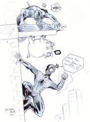 SPIDER PIG,Featuring Daredevil by CrimsonFace