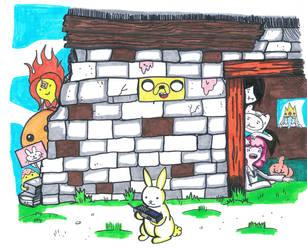Tiempo De Agosto 28, un ladrillo en la pared by CrimsonFace