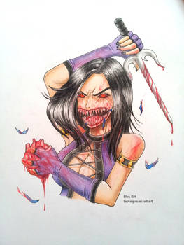 Mileena the Ghoul by Abz-Art