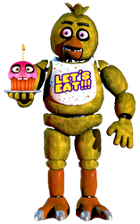 Chica full body by JoltGametravel