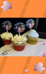 Team 7 Cupcakes by Emerald-Sakura