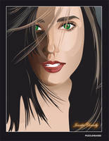 Jennifer Connelly by puzzleheaded
