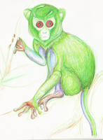 Amphibious JellyMonkey of Dewm by reptileweirdo90