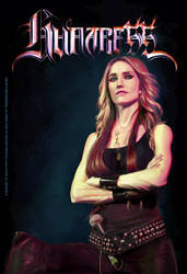 Jill Janus from Huntress by ikkiz
