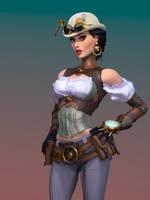 Lady Mechanica final by ikkiz
