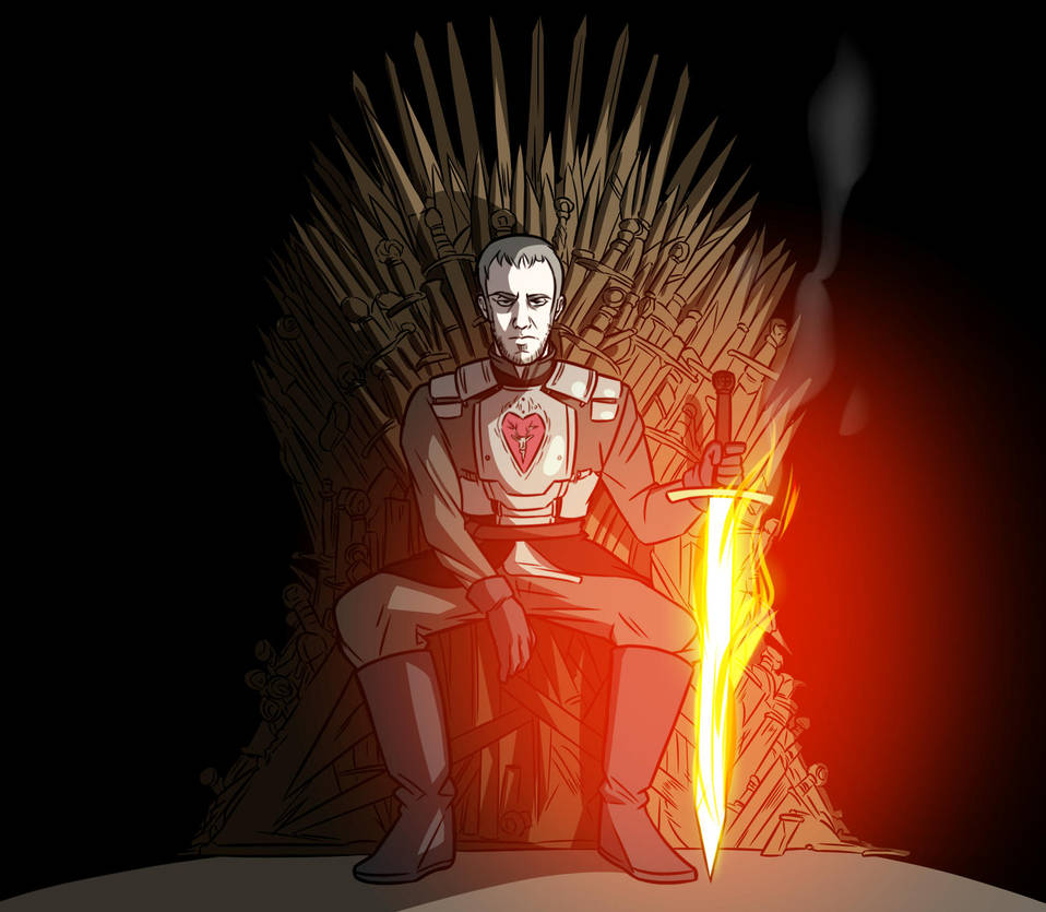 Stannis sword of fire by kish95