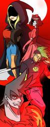 payback main villains by kish95
