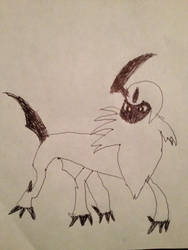 Apple The Absol by GalladeGuy475