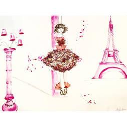 pinky Paris by MariaXXArt