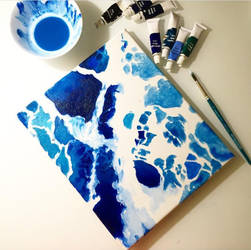 Deep blue See by MariaXXArt