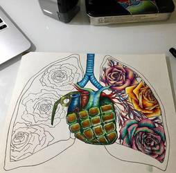 Anatomy art by MariaXXArt