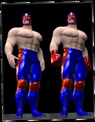 Masked Muscle by sedartonfokcaj