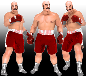 Another Punchout Character by sedartonfokcaj