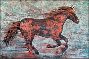 FIERY HORSE by Badusev