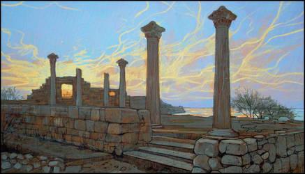 CHERSONESUS: THE GOLDEN STRINGS OF SUNSET by Badusev