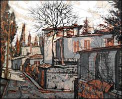 YALTA. KOTELNIKOV STREET by Badusev