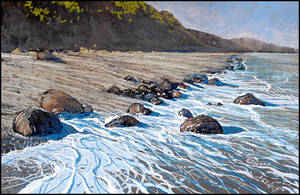 THE RUSTLE OF THE FOAMY WAVES by Badusev