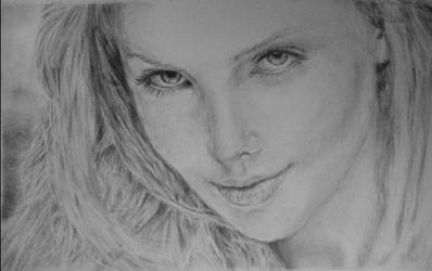 Charlize Theron by nellusatko