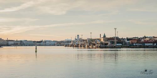 Helsinki port by nellusatko