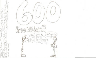 600 :o by shadowluigimuhaha