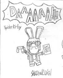 Rabbid SpiderKirbyTheSequel by shadowluigimuhaha