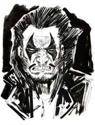 Lobo sketch 1 by Faustized