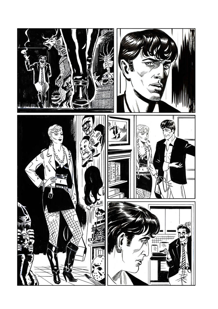 Dylan Dog 16 prova by Faustized