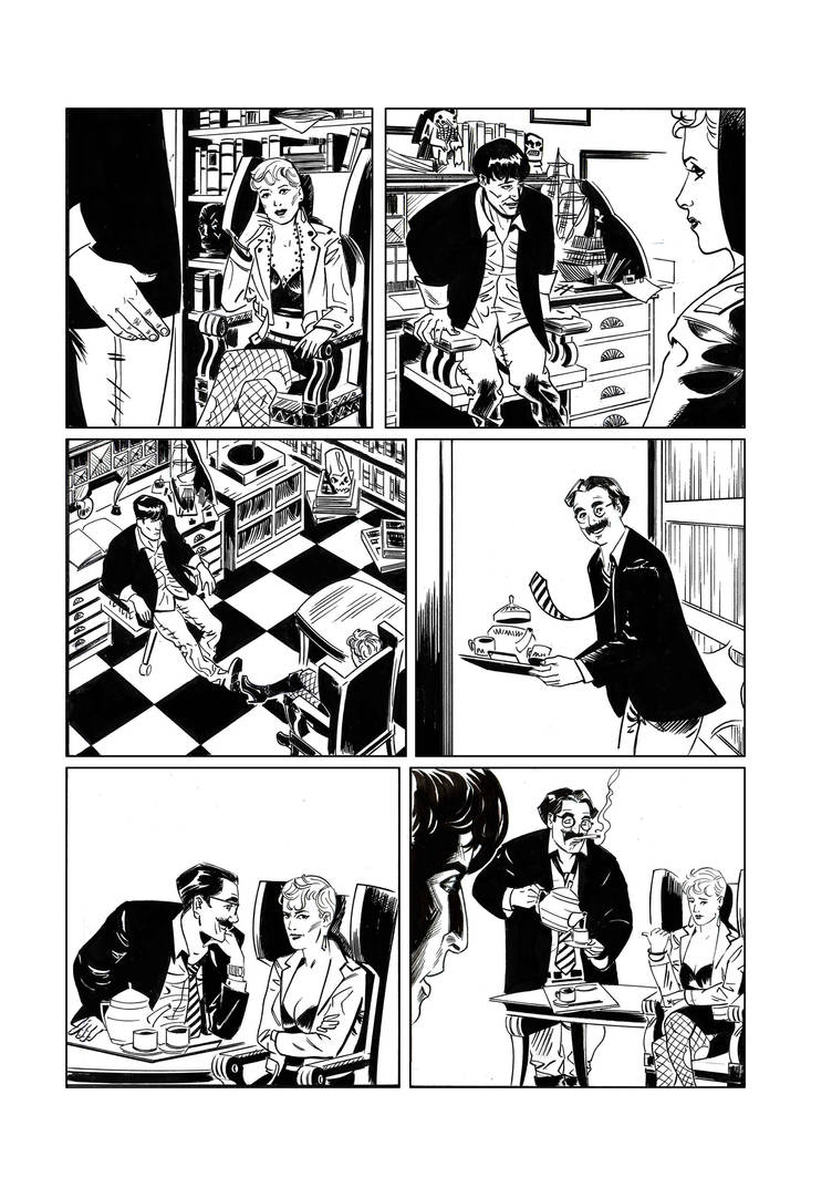 Dylan Dog 17 prova by Faustized