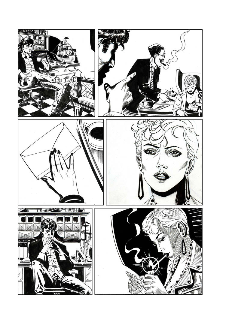 Dylan Dog 18 prova by Faustized