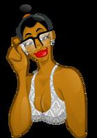 Black girl in Inkscape by pretojackson