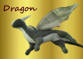 Original Dragon Plush by mordrelupis