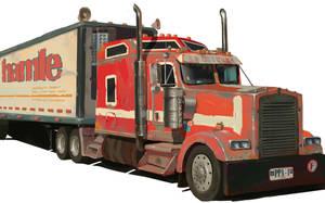 truck by Osadchikh