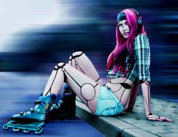 Humanoid by AshiMonster