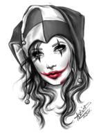 Joker girl by AshiMonster