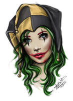 Joker girl colour by AshiMonster