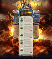 LineAge2 site ''Fiery way'' by DattaDesign