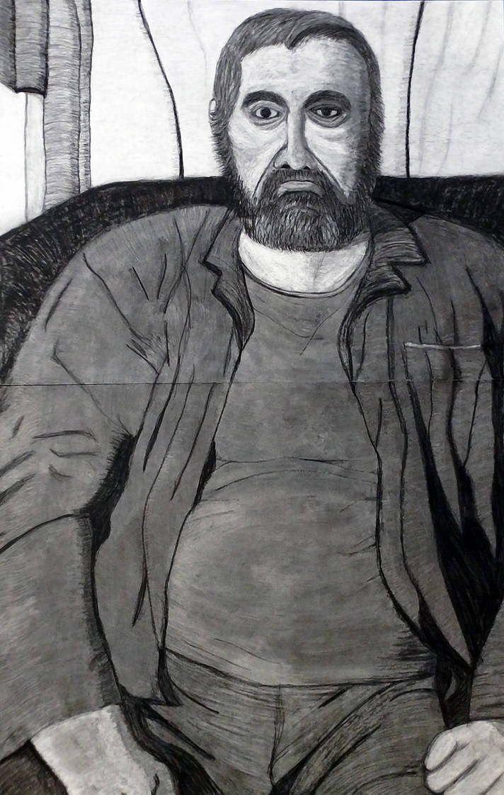 Charcoal Portrait Final by CharlesWayneRobinson