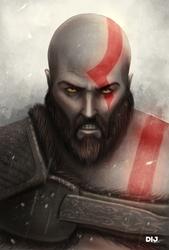 Kratos by Dij-Art