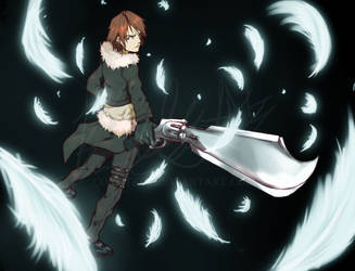 Squall by KAZECoyote